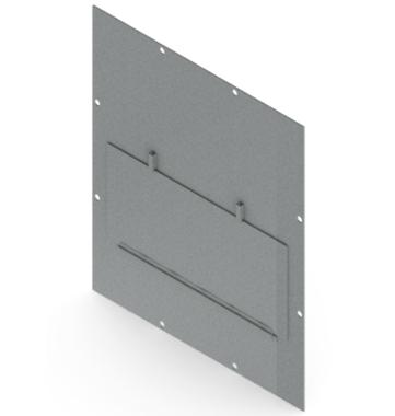 Ballistic Resistant Enclosure Window Shield